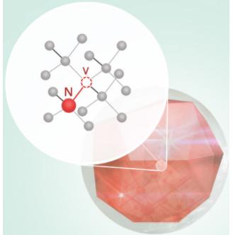 شمای ساختاری nanodiamond