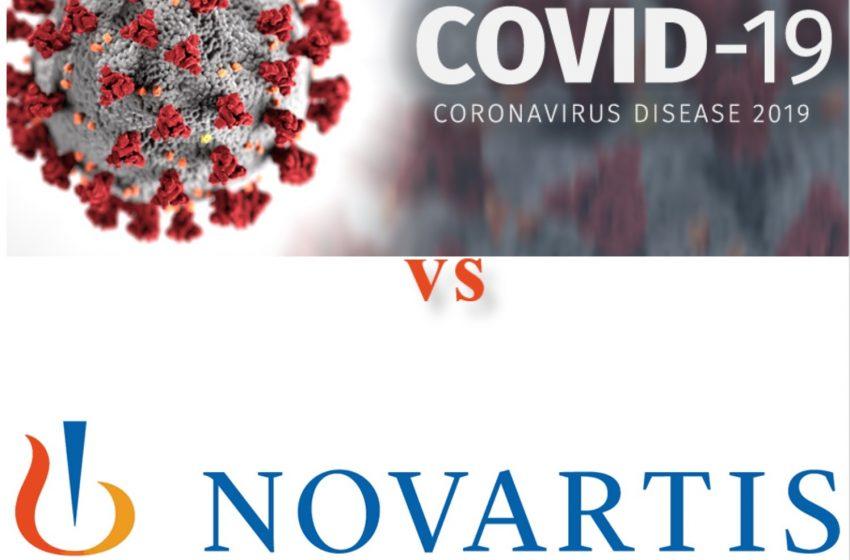 شرکت نوارتیس در نبرد با ویروس کرونا