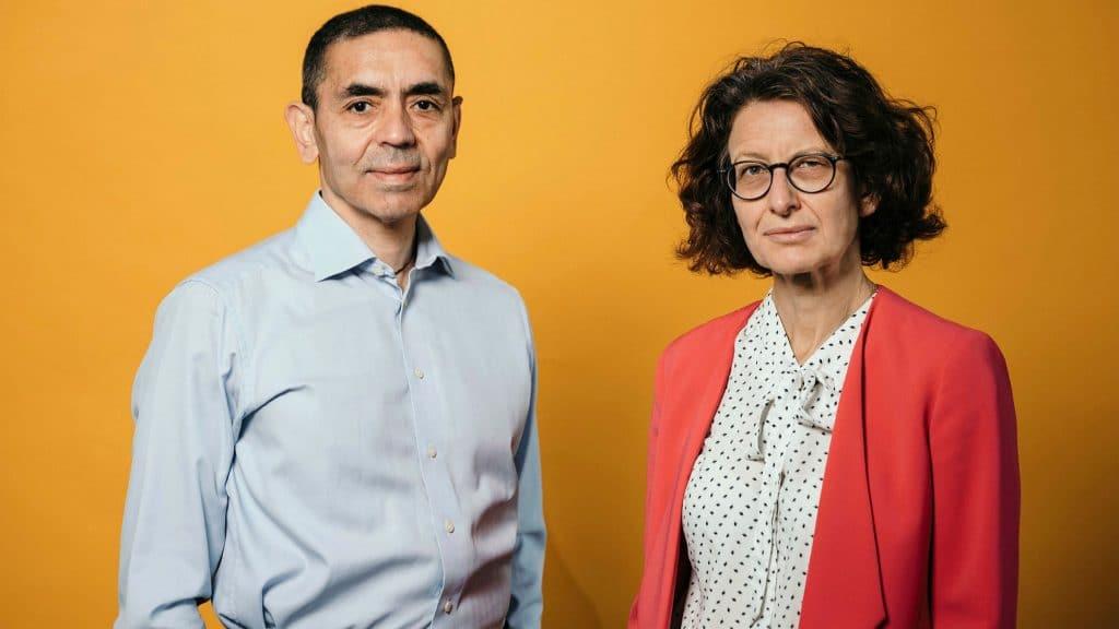 شاهین اورگو و اوزلم تورچی در شرکت بیوتکنولوژی BioNTech - 1